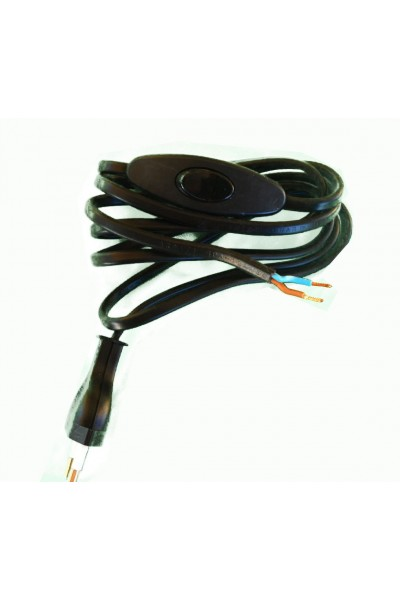 Black electrical cord