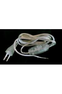 Cordon électrique transparent