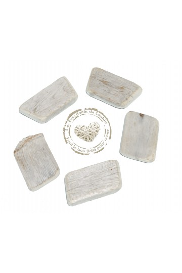 Set of 5 driftwood boards