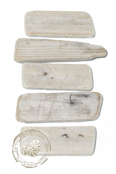 Lot De 5 Planches En Bois Flotte