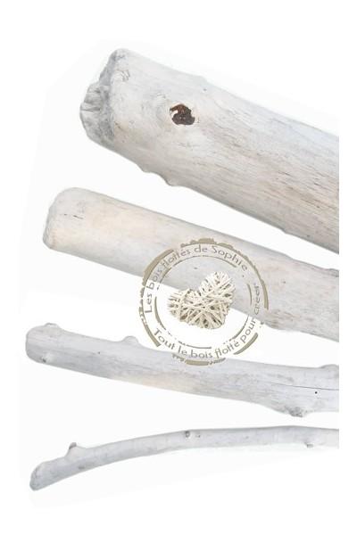 Kleine Zweige in Treibholz