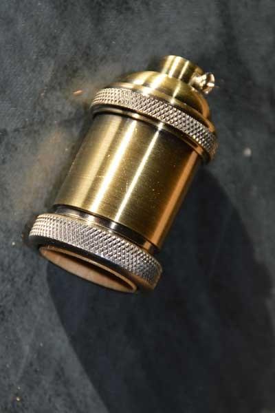 Fltaheroo Douille De Support DAmpoule De Lampe En Laiton Cuivre Edison Vintage Antique R/étro E26//E27 Laiton Antique