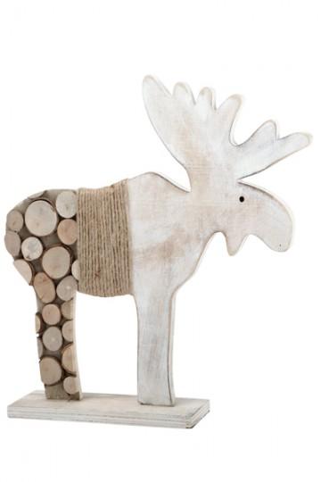 Elan en bois naturel