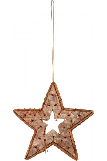 Set of 5 birch stars