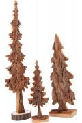 Sapin en écorce de bois à poser