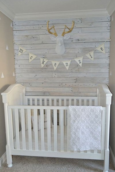 Planches de palettes shabby chic for Pallet shabby chic