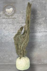 Sculpture en bois flotté