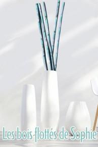Branche décorative - Cannes roseaux - Petit modèle