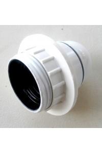 Douille électrique blanche E27