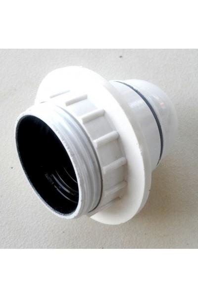 White electric socket E27