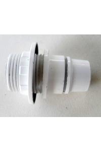 Douille éléctrique blanche E14