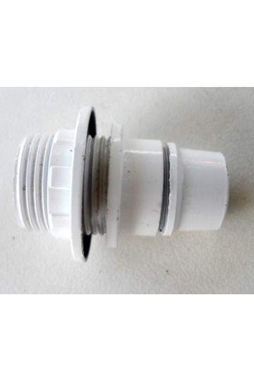 Douille électrique blanche E14