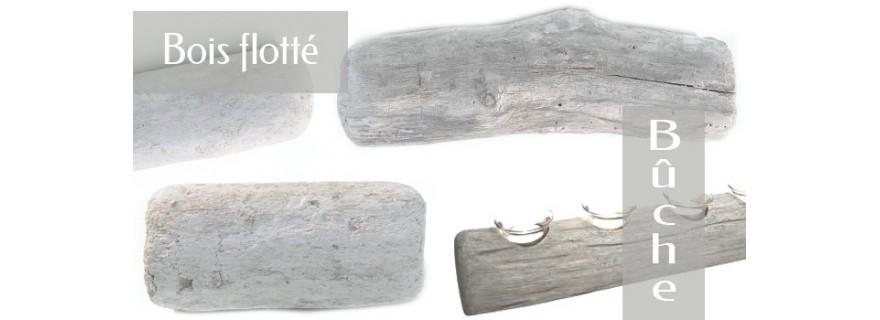 Bûches de bois flotté