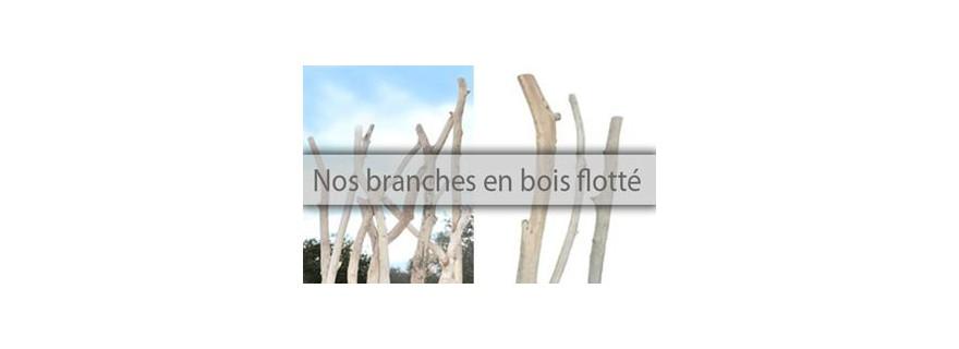 Treibholz Zweige