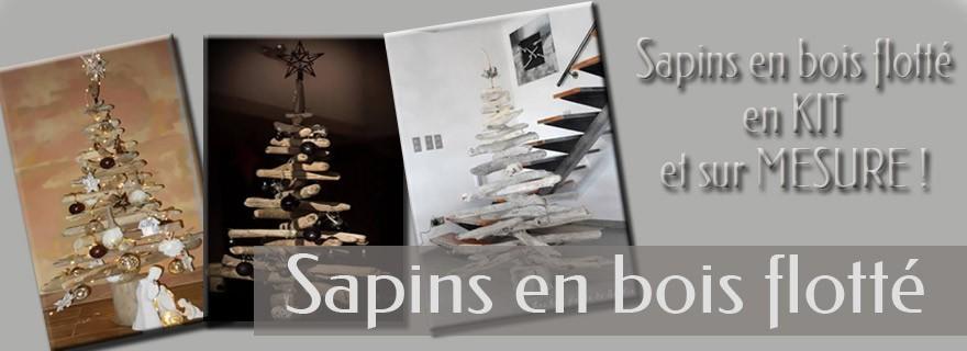 sapins en bois flott les bois flott s de sophie. Black Bedroom Furniture Sets. Home Design Ideas