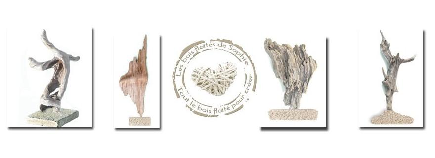 Sculptures en bois flotté