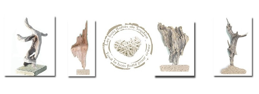 Treibholz Skulpturen