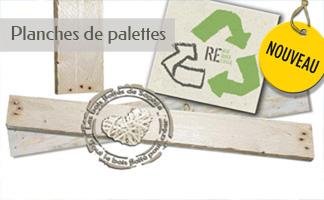 Planches de palettes